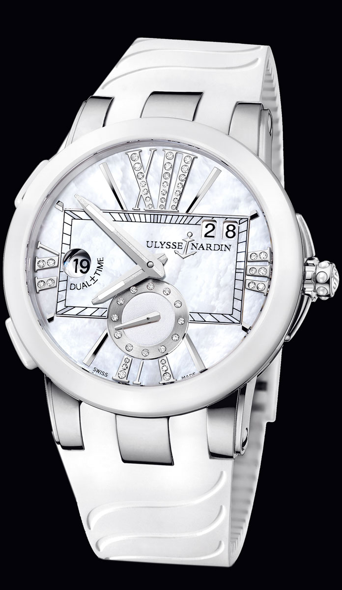 часы Ulysse Nardin Executive Dual Time Lady