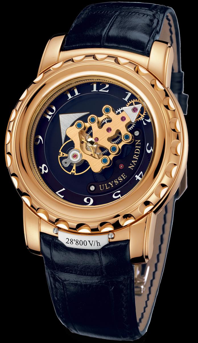 часы Ulysse Nardin Freak 28'800 V/h