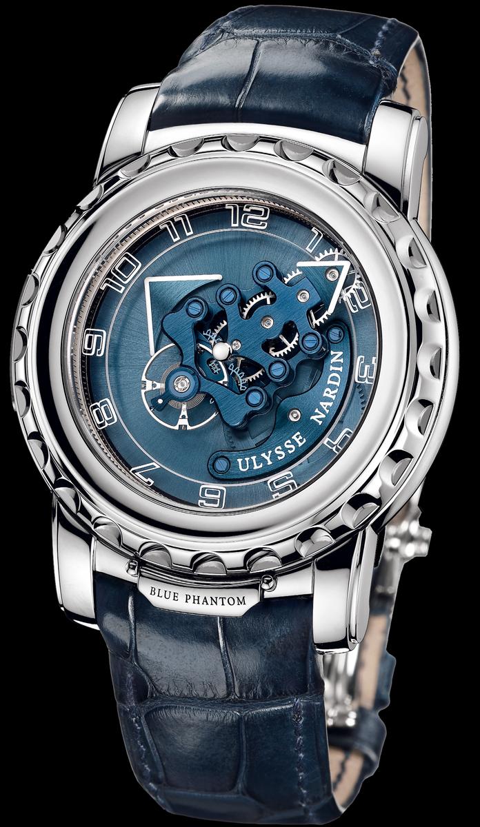 часы Ulysse Nardin Freak Blue Phantom