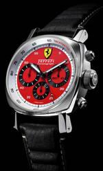 часы Panerai Ferrari Chronograph Red Dial