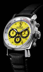 часы Panerai Ferrari Chronograph Yellow Dial