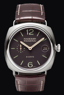 часы Panerai Radiomir 8 days Titanio 45mm