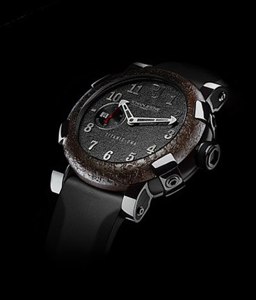 ���� Romain Jerome Titanic-DNA � rusted steel T-OXY III / Steel