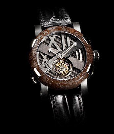 часы Romain Jerome Titanic-DNA – Rusted steel T-oxy III Tourbillon steel Extreme