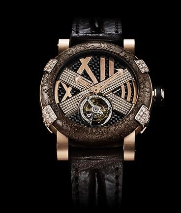 часы Romain Jerome Titanic-DNA – Rusted steel T-oxy III Pink Star Ultimate