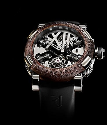 часы Romain Jerome Titanic-DNA – Rusted steel T-oxy III Tourbillon Steampunk A la Grande