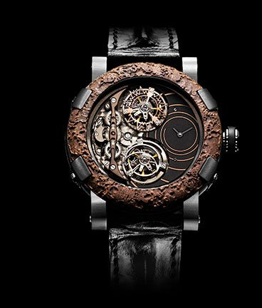 часы Romain Jerome Titanic-DNA – Rusted steel Day&Night spiral Extreme