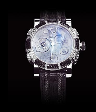 часы Romain Jerome Steel Mood with gem-set diamonds
