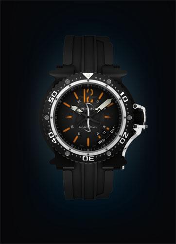часы Aquanautic King Subdiver Orange