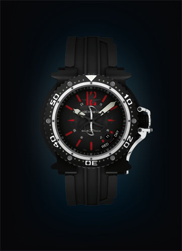 часы Aquanautic King Subdiver Red