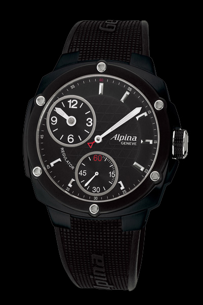 часы Alpina Extreme Regulator Full Black