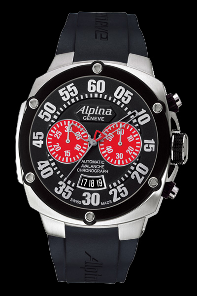 часы Alpina Extreme Chrono Double Digit