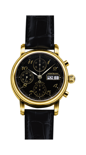 часы Montblanc Star Gilt XL Chronograph Automatic