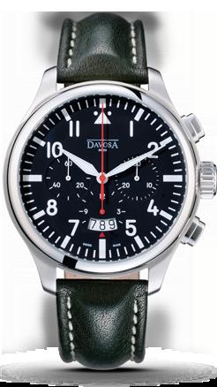 часы Davosa Pontus Pilot Chronograph