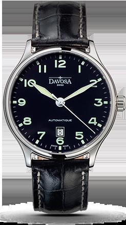 часы Davosa Classic Black Face