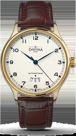 часы Davosa Classic Goldplated