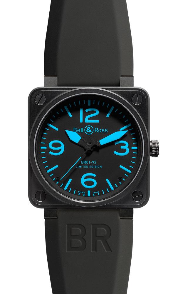часы Bell & Ross Blue