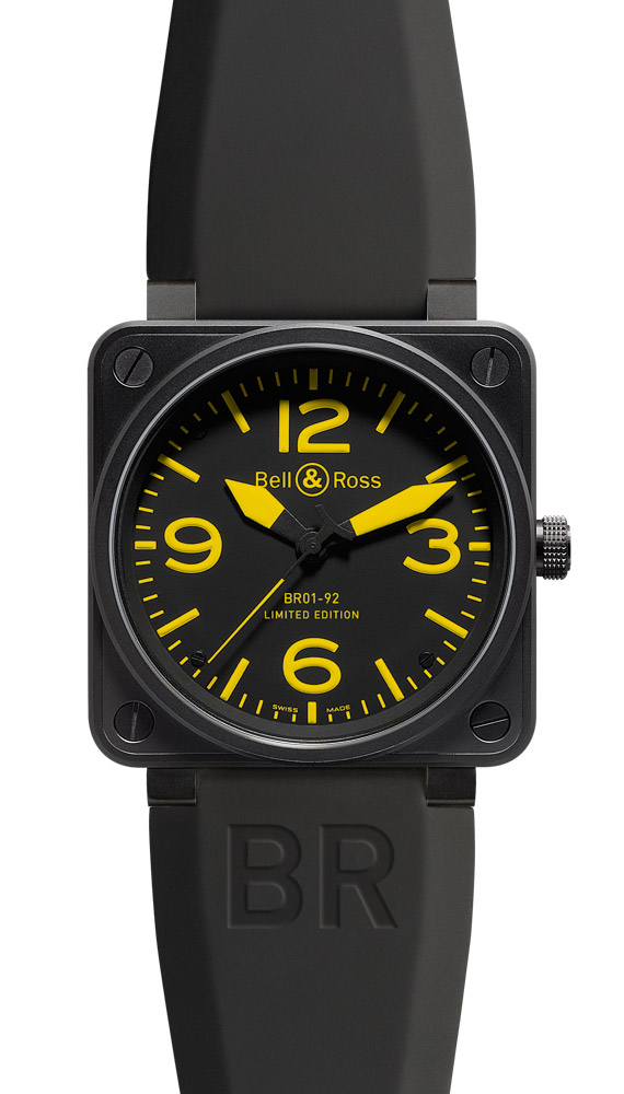 часы Bell & Ross Yellow