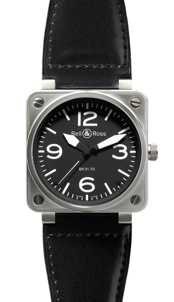 часы Bell & Ross Black Dial