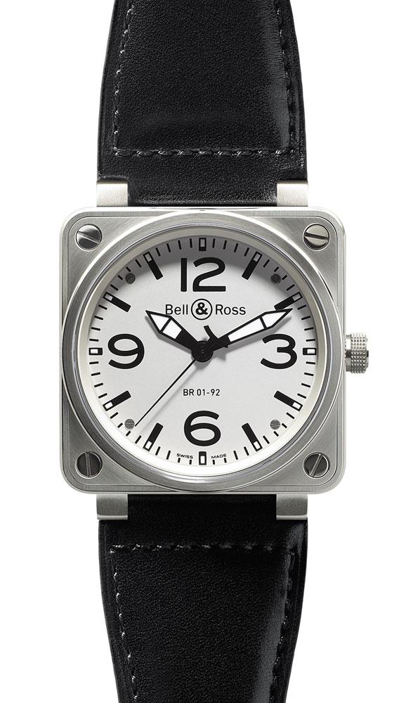 часы Bell & Ross White Dial