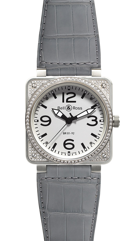 часы Bell & Ross Top Diamond White