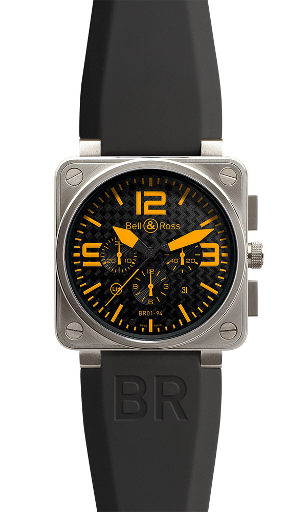 часы Bell & Ross Titanium Orange
