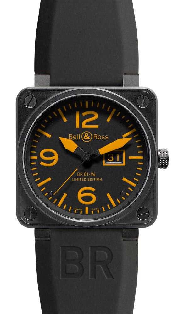 часы Bell & Ross Big Date Orange