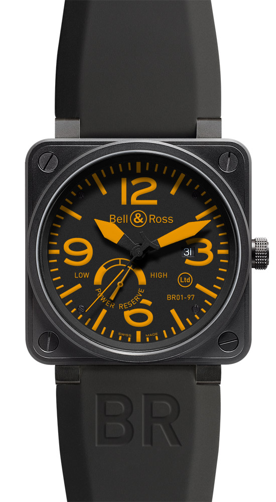 часы Bell & Ross Power Reserve Orange