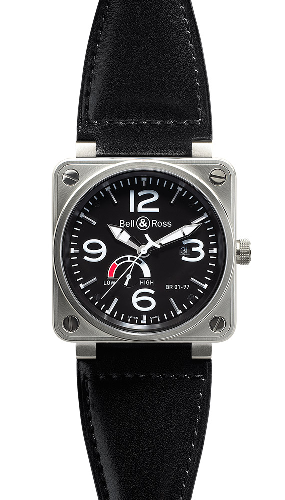 часы Bell & Ross Power Reserve Black Dial