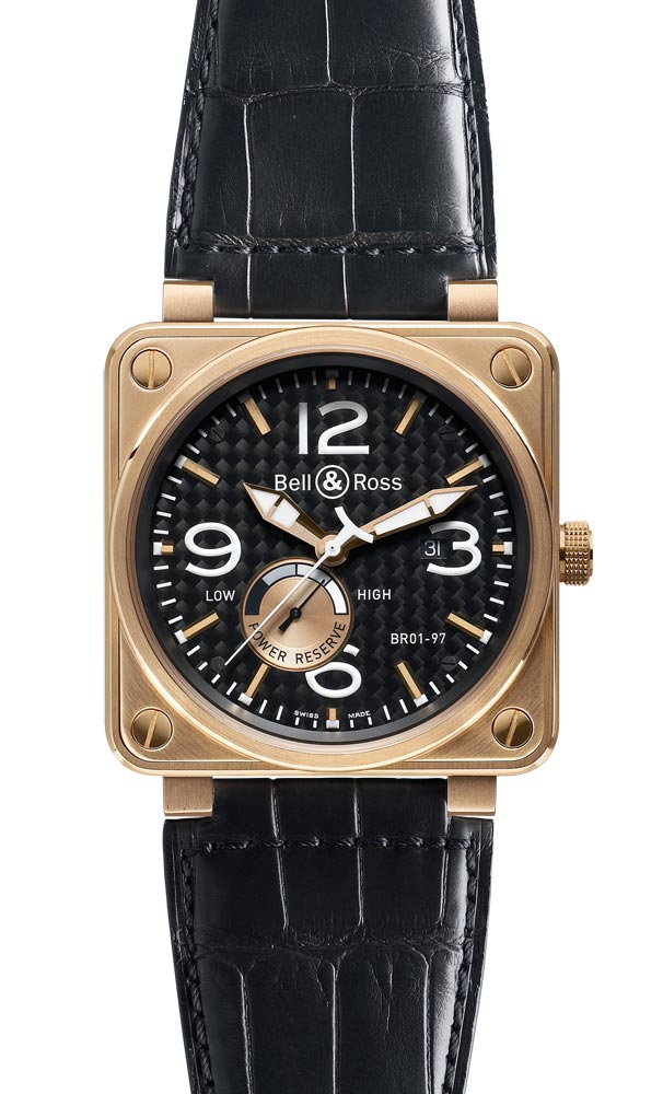 часы Bell & Ross Power Reserve Gold