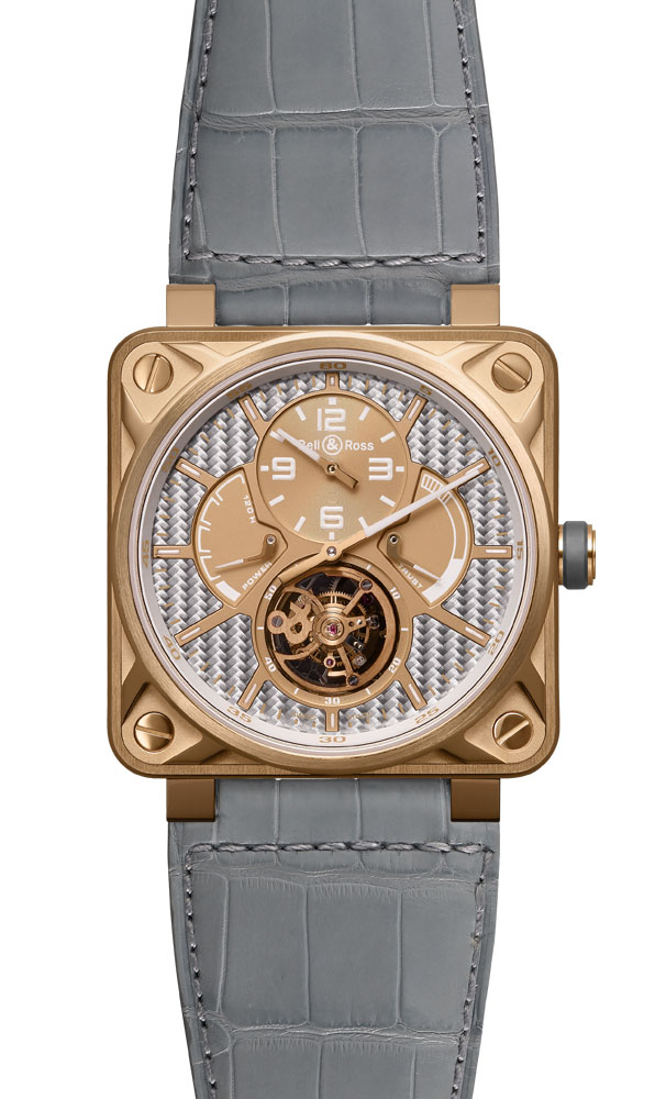 часы Bell & Ross Tourbillon Pink Gold Aluminium