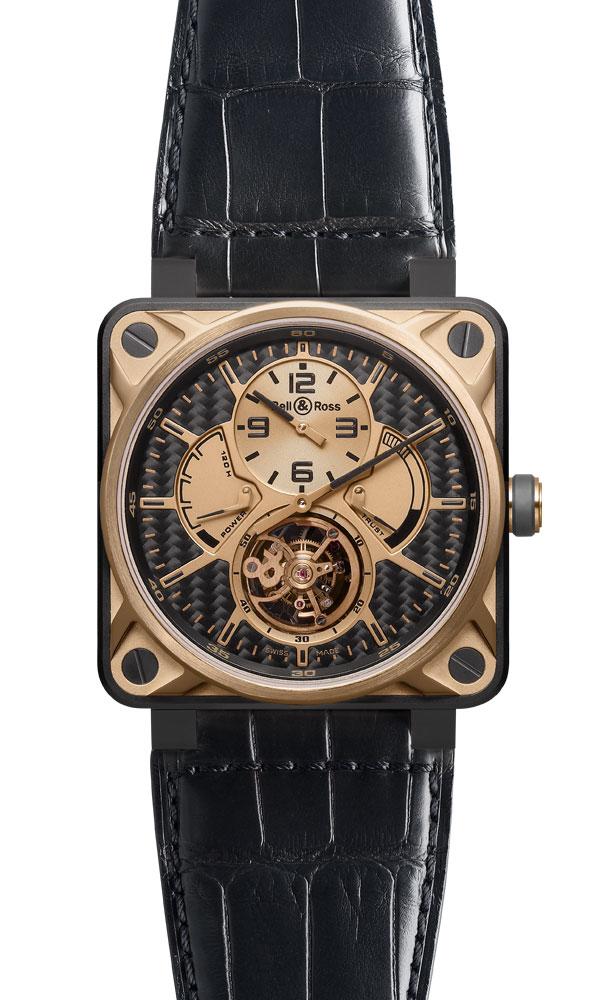 часы Bell & Ross Tourbillon Pink Gold & Titanium