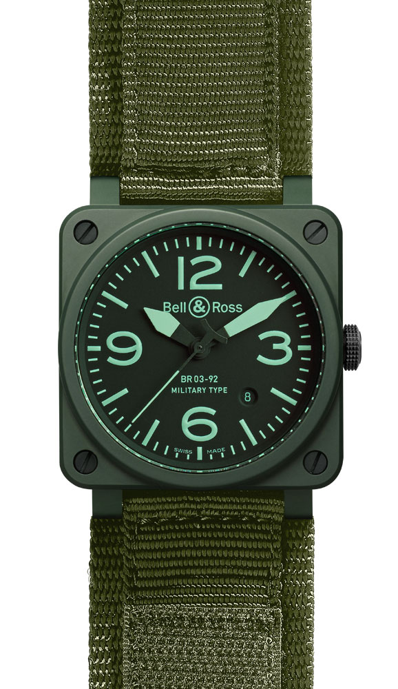 часы Bell & Ross Military Ceramic
