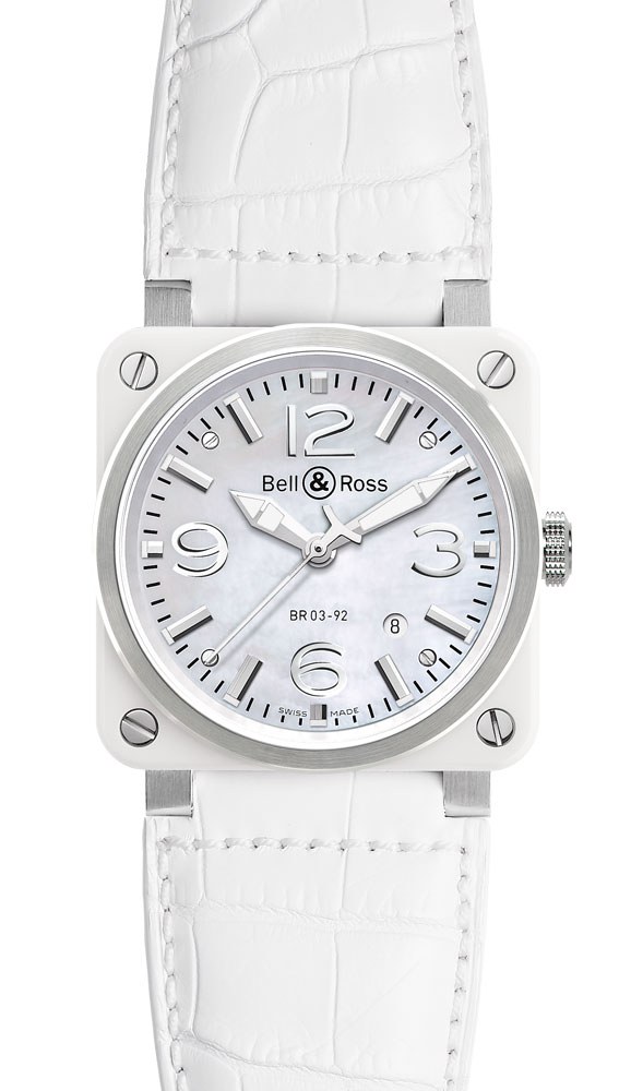 ���� Bell & Ross White Ceramic