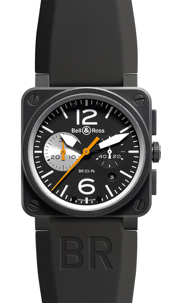 часы Bell & Ross Black & White