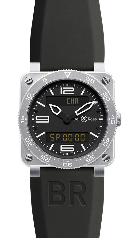 часы Bell & Ross Type Aviation Steel