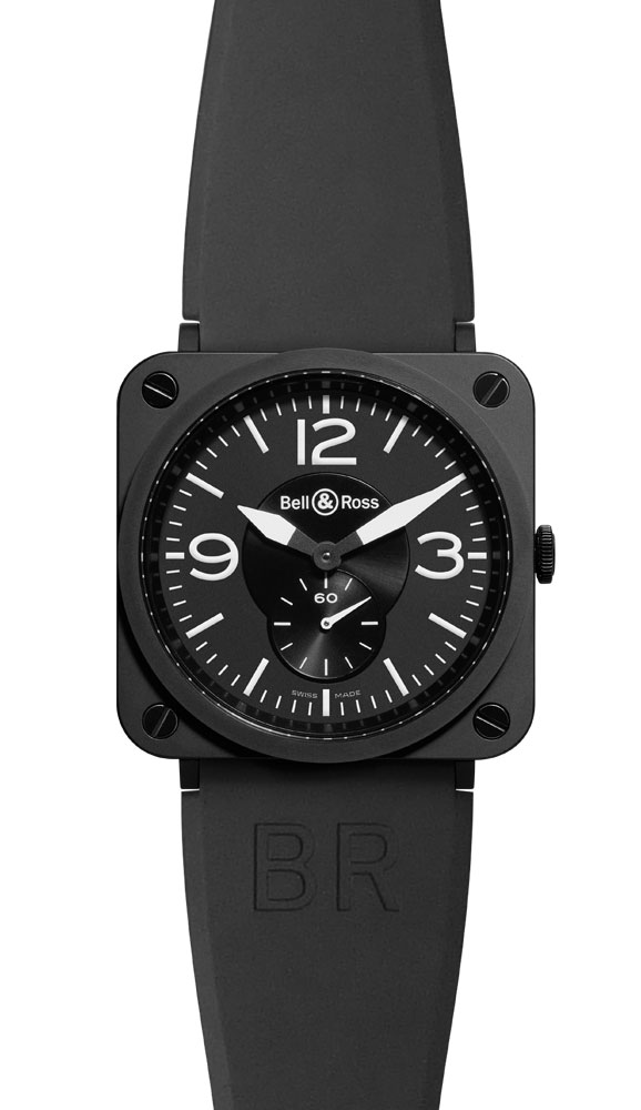 часы Bell & Ross Mate Ceramic Black