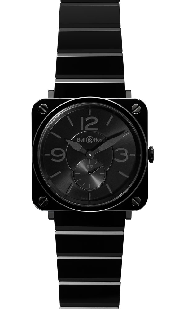часы Bell & Ross Black Ceramic Phantom