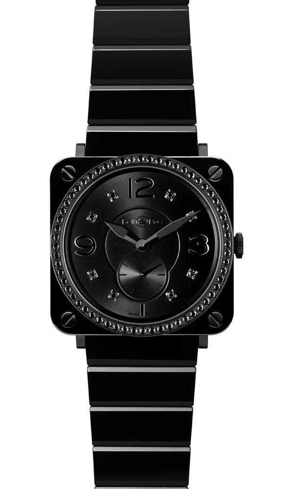 часы Bell & Ross Black Ceramic Phantom Diamonds