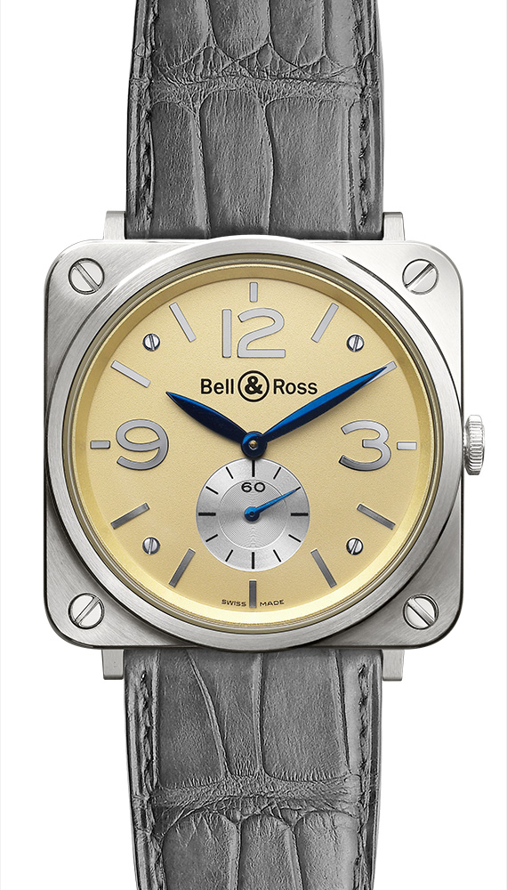 ���� Bell & Ross Gold Ivory Dial