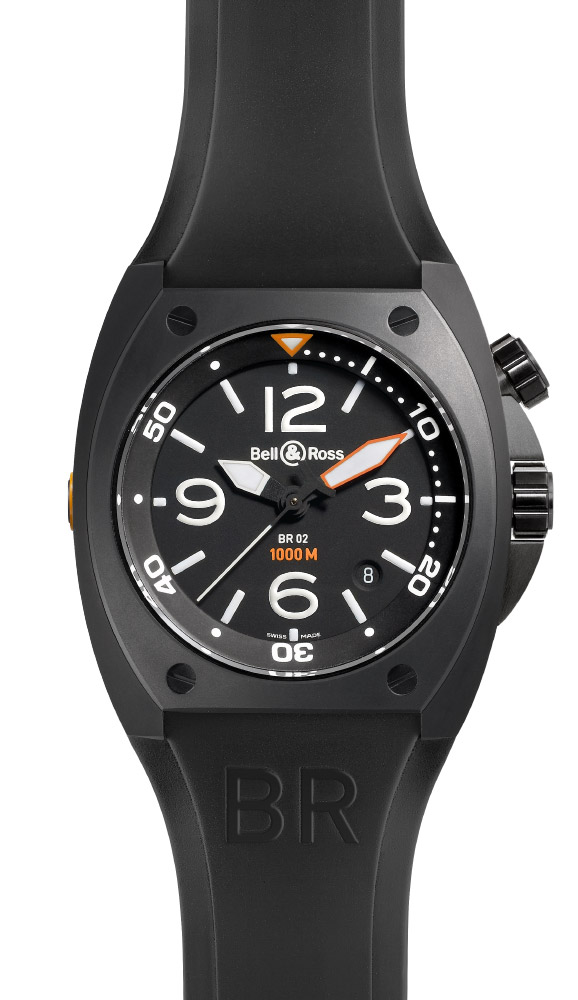 часы Bell & Ross Carbon Finish