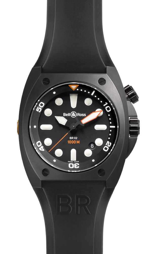 часы Bell & Ross Pro Dial Carbon Finish