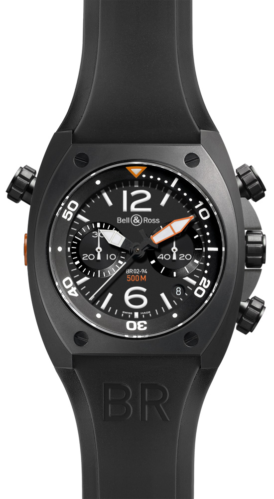 ���� Bell & Ross Chronograph Carbon Finish