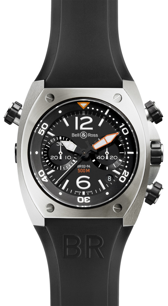 часы Bell & Ross Chronograph Steel