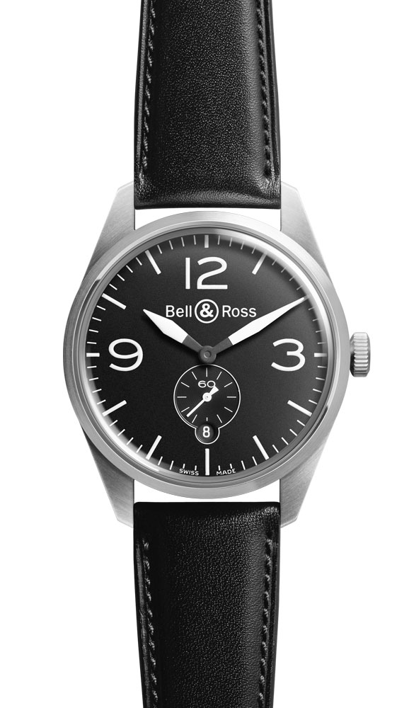 часы Bell & Ross Original Black