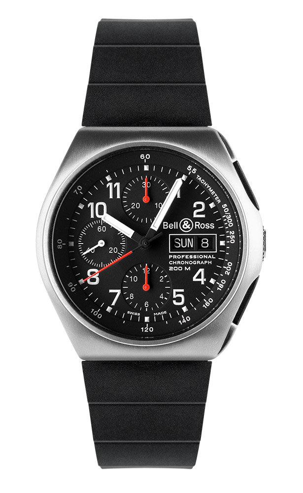 часы Bell & Ross Space 3 Black