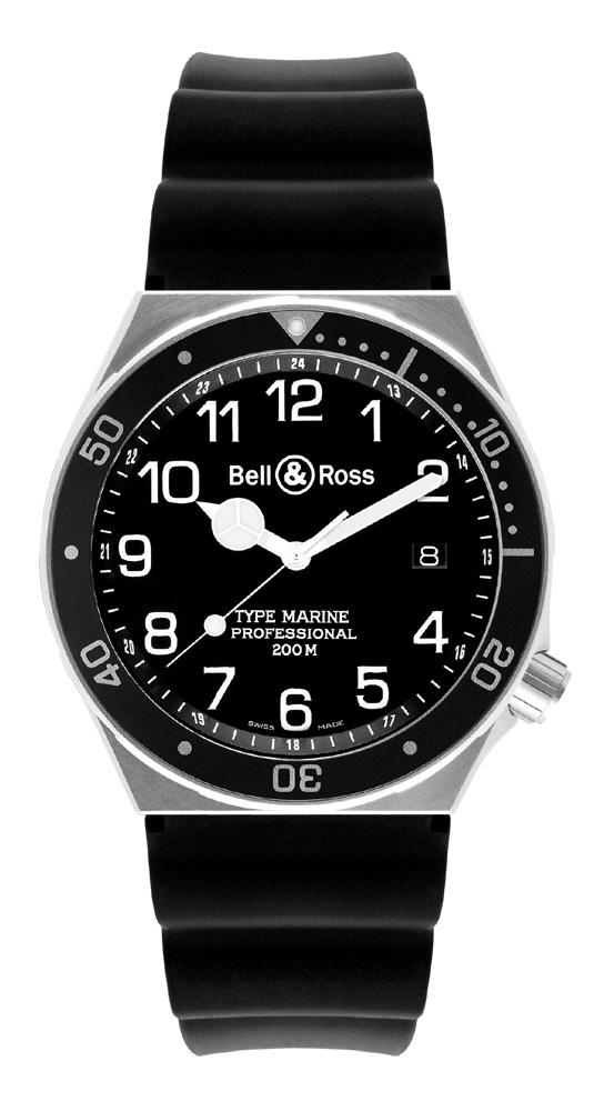 часы Bell & Ross Type Marine Black