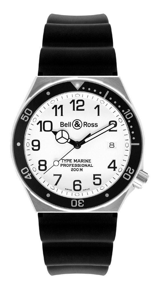 часы Bell & Ross Type Marine White