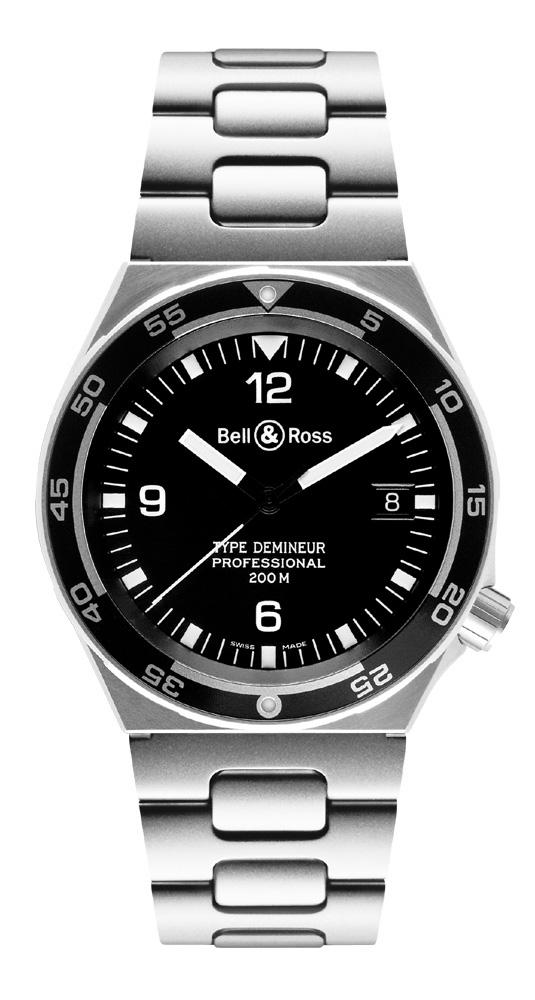 часы Bell & Ross Type Demineur Black
