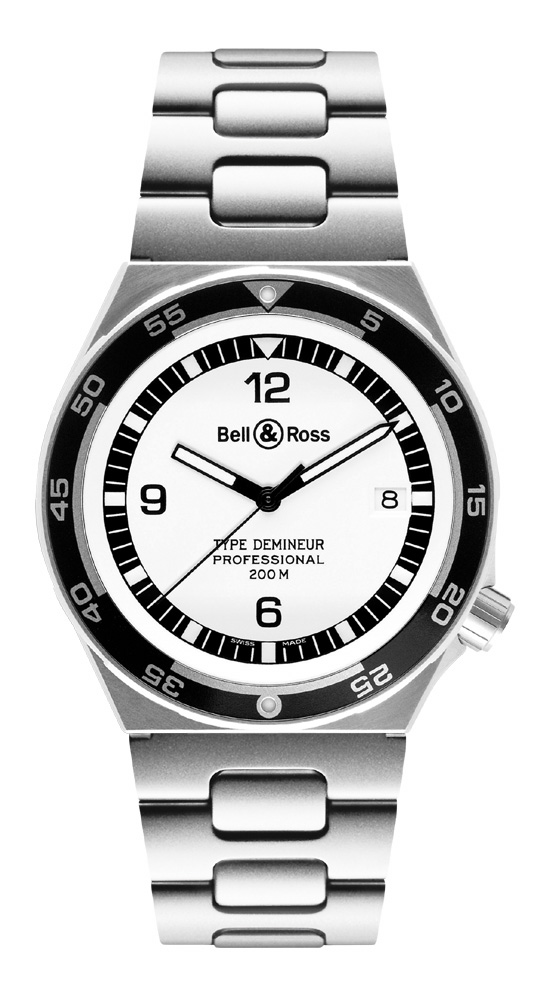 ���� Bell & Ross Type Demineur White